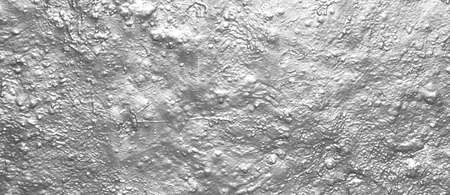 background with crude wall with bright silver color