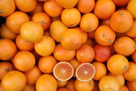 High Resolution 30 Mega Pixel background of orange Oranges