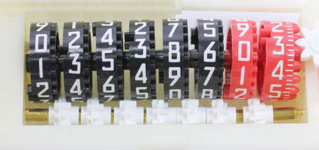 many big numbers in the analogic counter