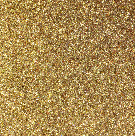background shining yellow gold glitter in square frame