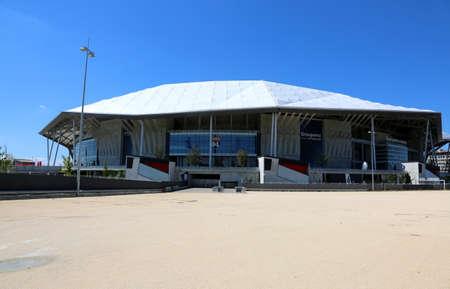 Lyon, France - August 15, 2018: main Stadium called Groupama 報道画像