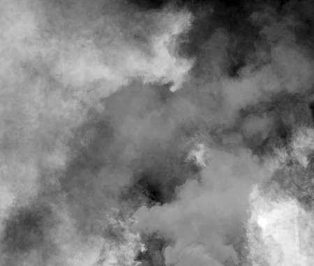 dense black smoke of the fire ideal as a background for the concept of pollution and unbreathable air 写真素材