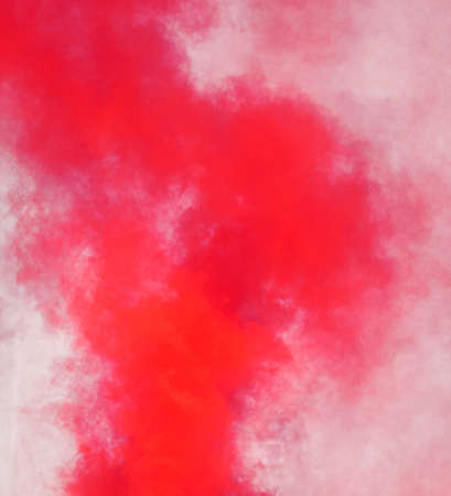 abstract background of red smoke on white background Фото со стока