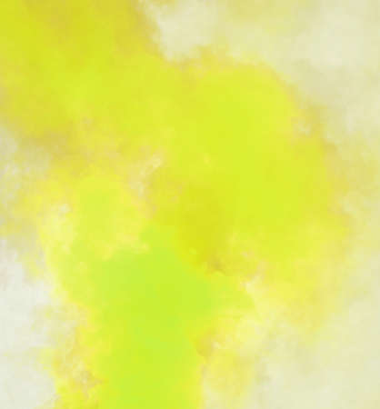 abstract background of yellow and green smokebackground Stock Photo
