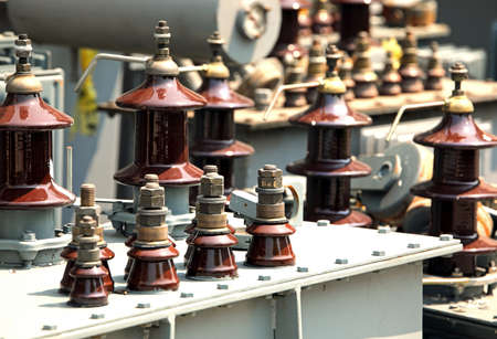 storage of electrical transformers before disposal in the company specializing in the recovery of hazardous substances