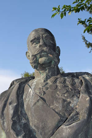 statue of franz joseph Emperor of Austria in Vienna