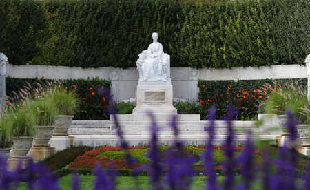 Statue of empress Elisabeth of Austria also called Sisi in Vienna