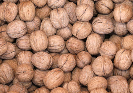 background of organic walnuts for sale