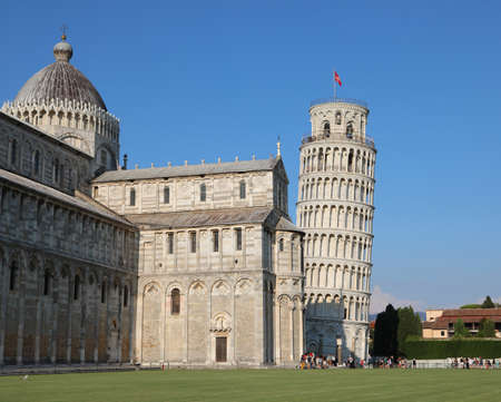 Square of Miracles called Piazza dei Miracoli in Italian language in Pisa Town in Italy