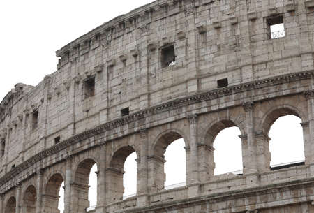 Colosseum Amphitheatre also called Il Colosseo in Rome Italy Zdjęcie Seryjne