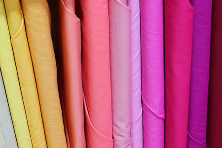 warm tones of fabrics for sale at haberdashery