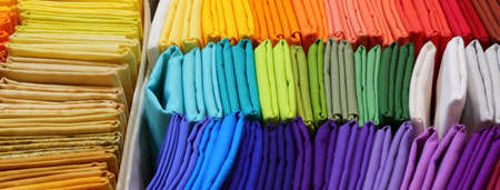 bacngrkound of multicolored canvas for sale at fashion store