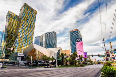 nevada: LAS VEGAS - 31 MAY 2017 - Aria Resort and Casino is a luxury resort and casino, part of the CityCenter complex on the Las Vegas Strip in Paradise, Nevada. Editorial