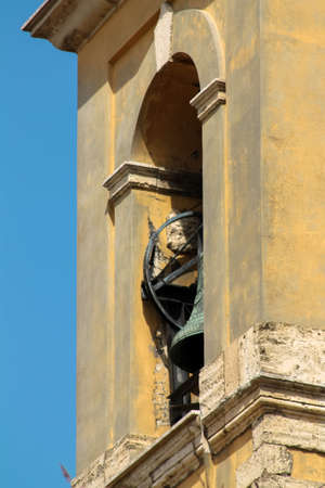 in particular: particular of the bell tower
