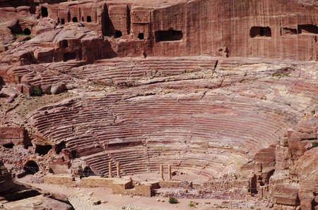 petra  jordan: Theatre of Petra, Jordan