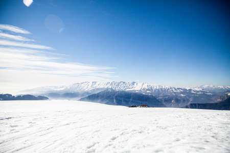winter mountains italy