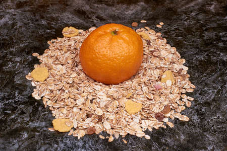 Usually the flakes are grayish-yellow color with hints of very tasty and healthy