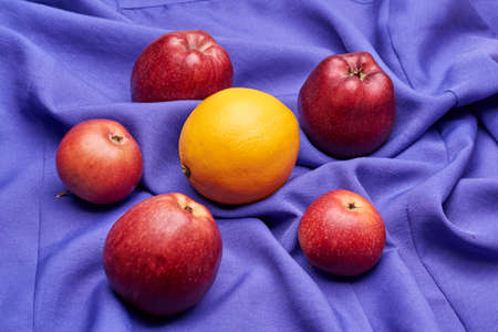 Use fruit and citrus has long been discussed by nutritionists and doctors Stock Photo