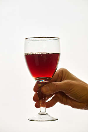 If you drink wine in small quantities reduces the risk of developing cancer Stock fotó