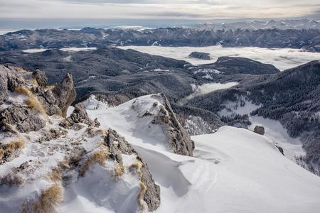 Slovenian winter Alps