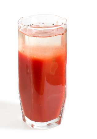 Bloody Mary cocktail with spices, path included Stock Photo - 4386308