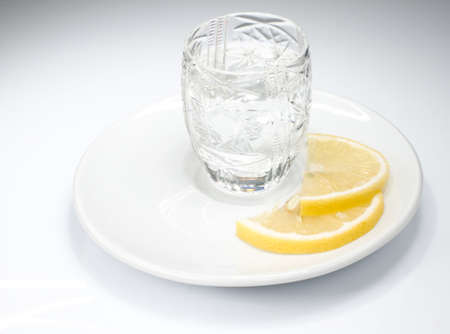 sparce: Just a shot of vodka with lemon slices