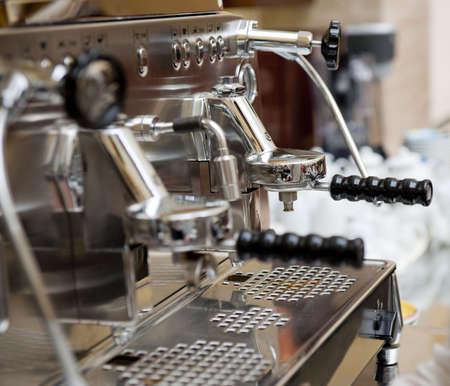 Italian espresso machine, shallow depth of field Stock Photo - 5113867