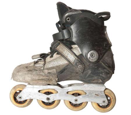 rundown: Run-down roller skate, total anti-glamour