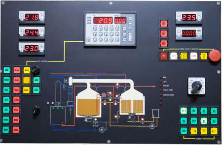 electronics industry: Brewery control display
