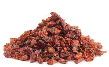 barbery: Barberry heap isolated on white with background