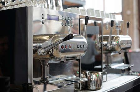 espresso machine: Italian espresso machine, restaurant equipment