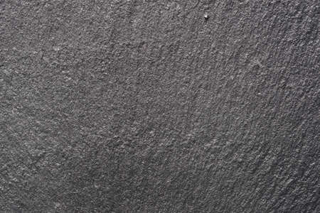 dark grey slate: Grey slate texture, macro shot, background Stock Photo