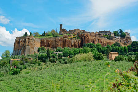 orvieto: View at ancient town of Orvieto, Umbria, Italy