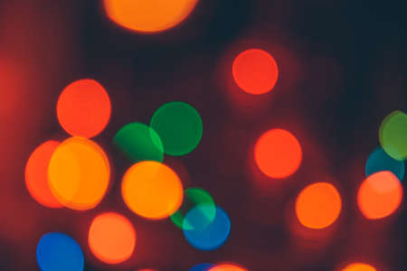 the bokeh christmas blurry colorful holiday background