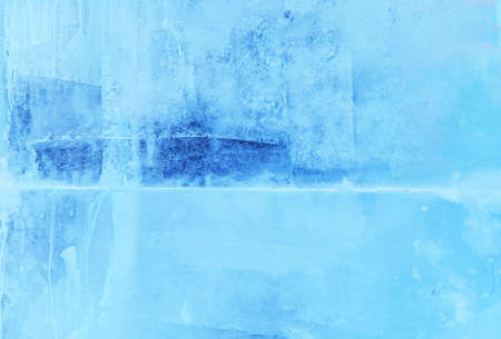 background glass covered with ice texture close-up