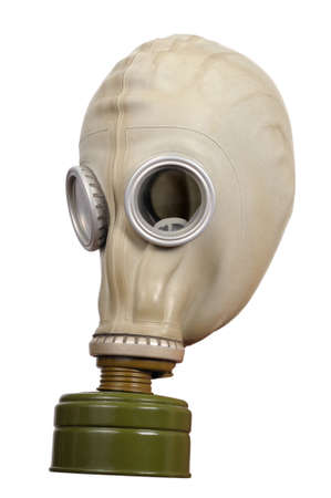 Gas mask isolated on a white background  photo