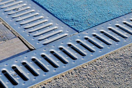 Drain drate, lattice for removal of rain water from walking paths of the park