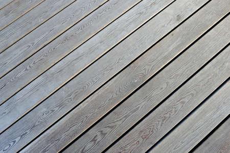 Wooden flooring, side view. Parallel boards. Stok Fotoğraf
