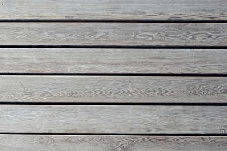 Wooden flooring, top view.