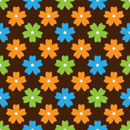 brown pattern: The illustration brown pattern for background