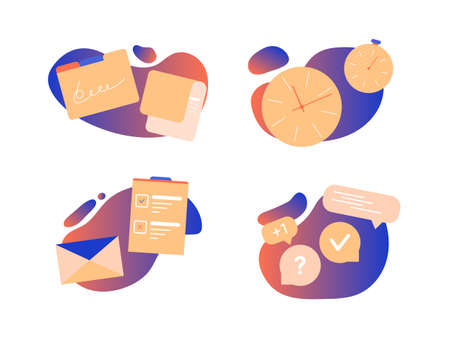 Icons for the landing page