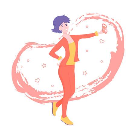 A cute woman running