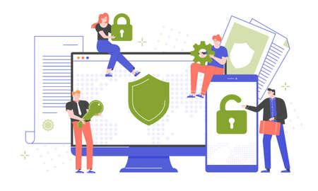 Cybersecurity, secure passwords