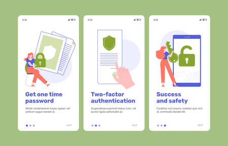 Two-factor authentication. Cybersecurity