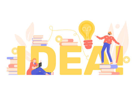 Idea concept. Education and brainstorm.