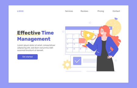 Effective time management. Çizim
