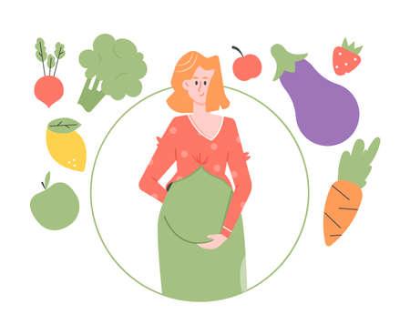 Pregnancy Diet. Healthy Eating.