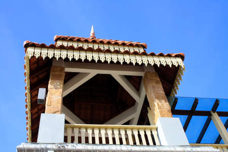 modern and traditional hut architecture in kuala terengganu Stock Photo - 5127462