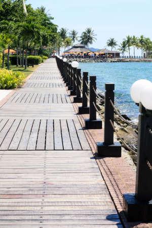 Resort in Kota Kinabalu Sabah Stock Photo - 6061797