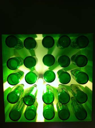beer bottle lighting